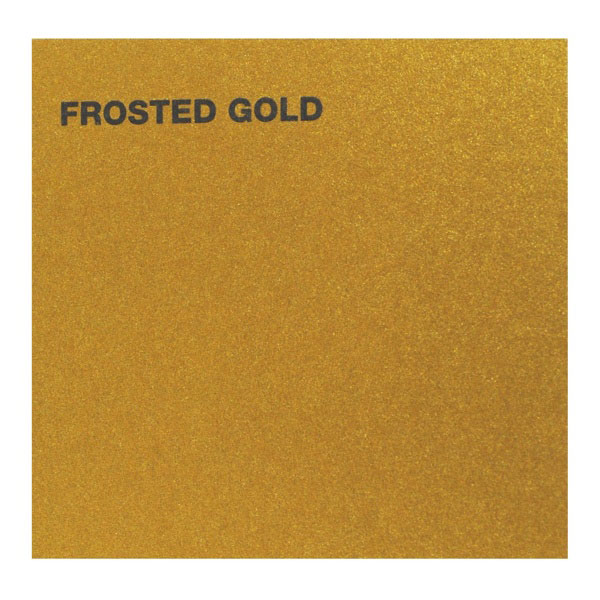 Canford Card 20.5X30.5 Frosted Gold 5/Pk