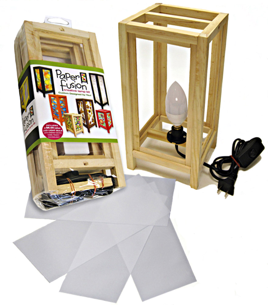 Paper Fusion Lamp Kit 5X11 Natural