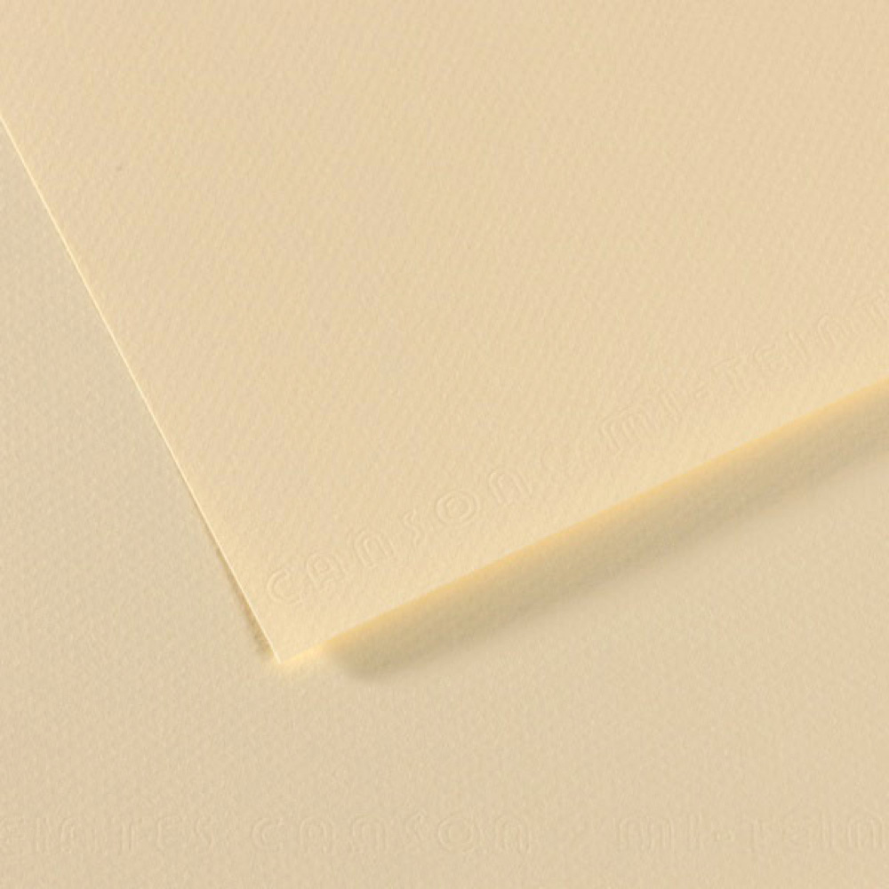 Mi-Teintes Paper 19.5X25.5 101 Pale Yellow
