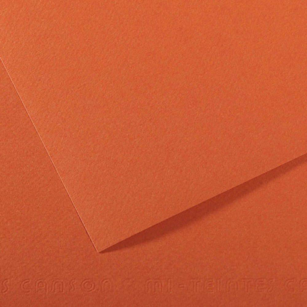Mi-Teintes Paper 19.5X25.5 115 Mystic Orange