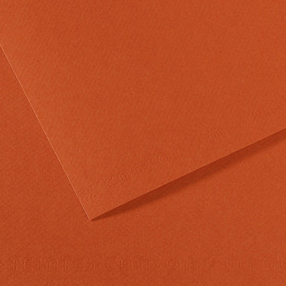 Mi-Teintes Paper 19.5X25.5 130 Red Earth Pk/5