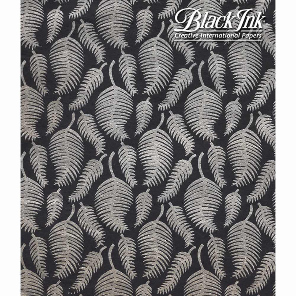 Paper India Metallic Ferns 19.75X27
