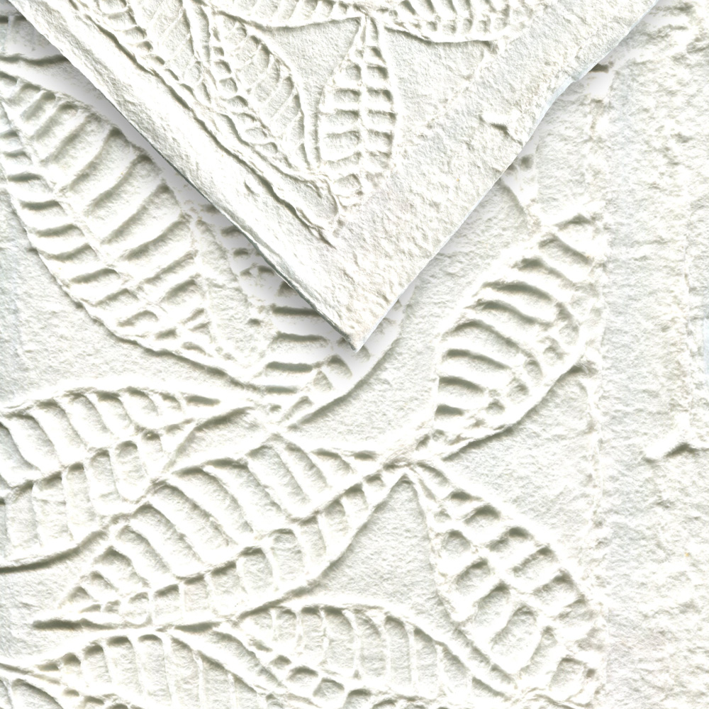 Paper Thai Heavy Embossed Ficus Leaves 22X30