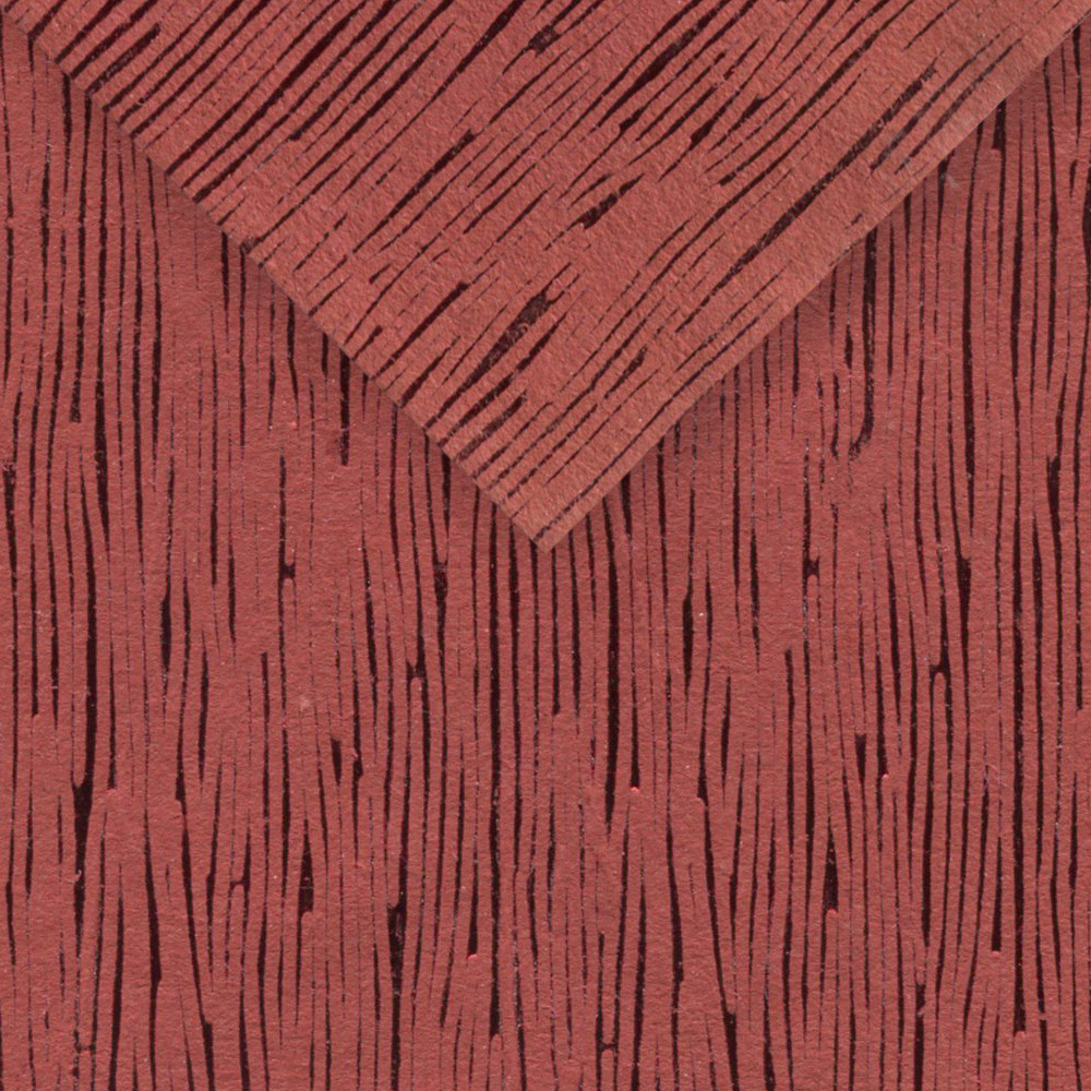 Paper India Embossed Red Foil 22X30