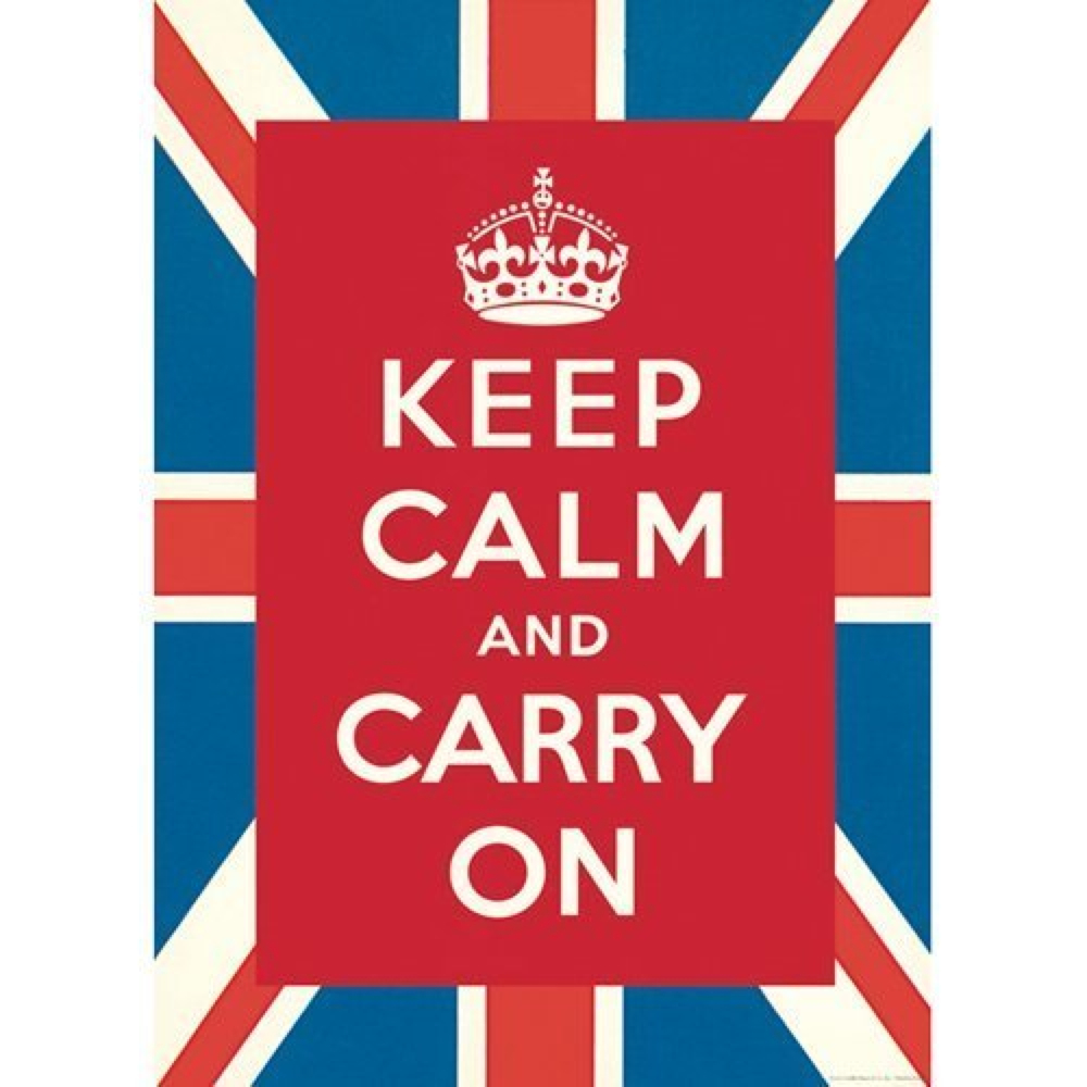 Decorative Wrap 20X28 Keep Calm