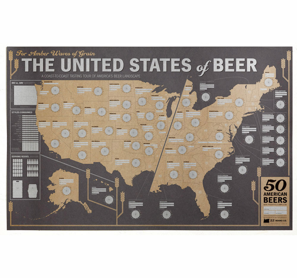 33 Books Co.: The U.s. Of Beer