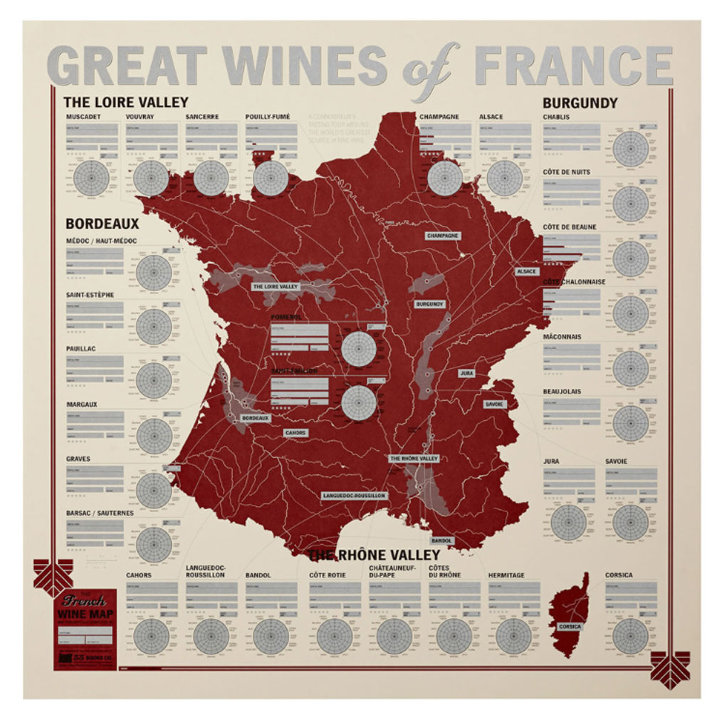 33 Books Co.: Wines Of France