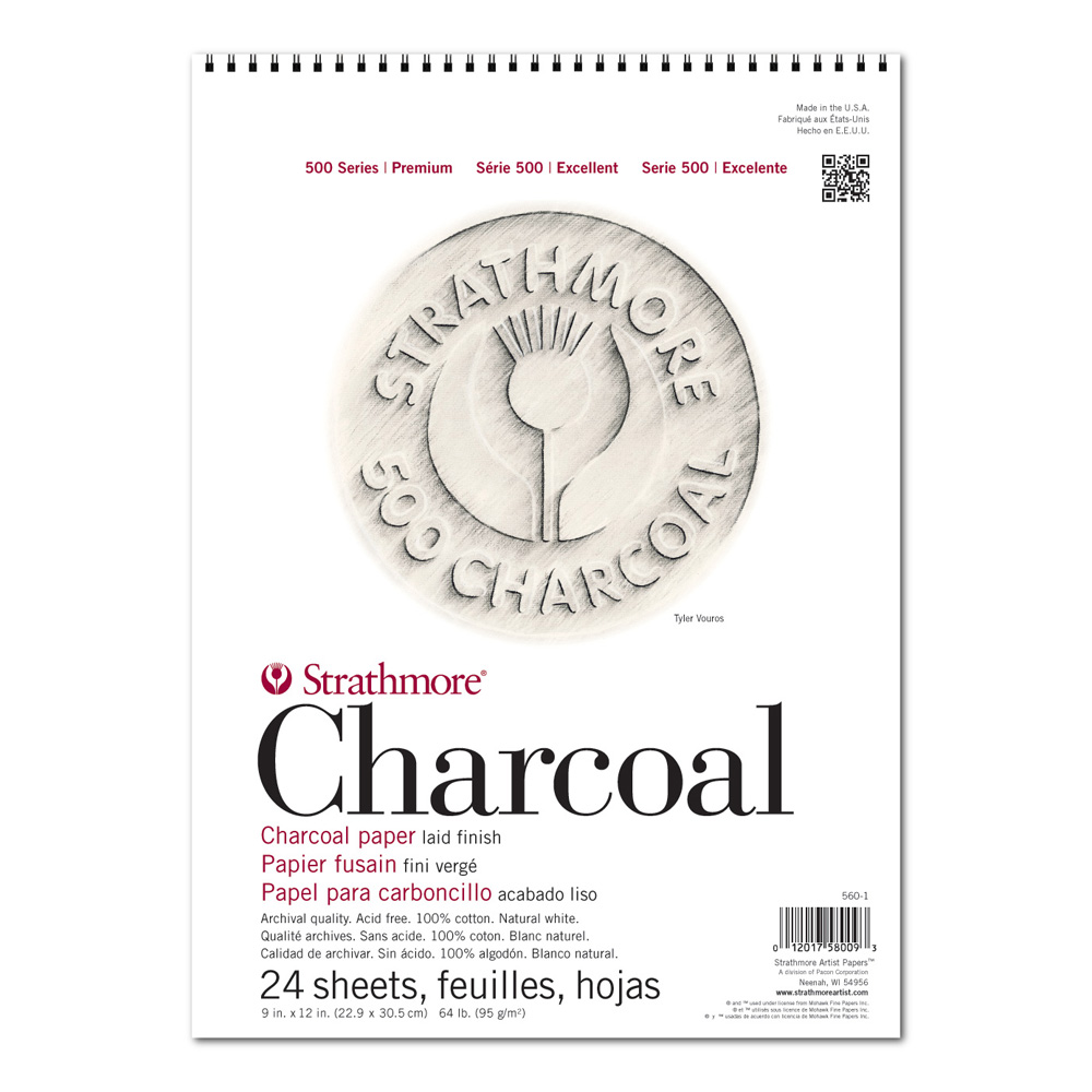 Strathmore 560 Charcoal Pad