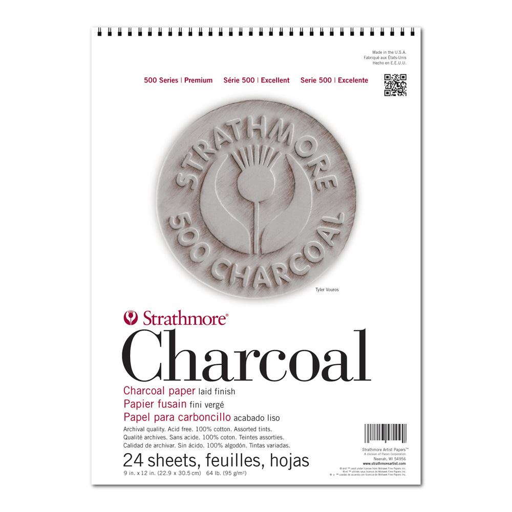 Strathmore 561 Charcoal Pad Assorted
