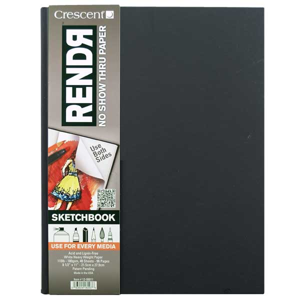 Rendr Hardbound Sketchbook 8.5X11