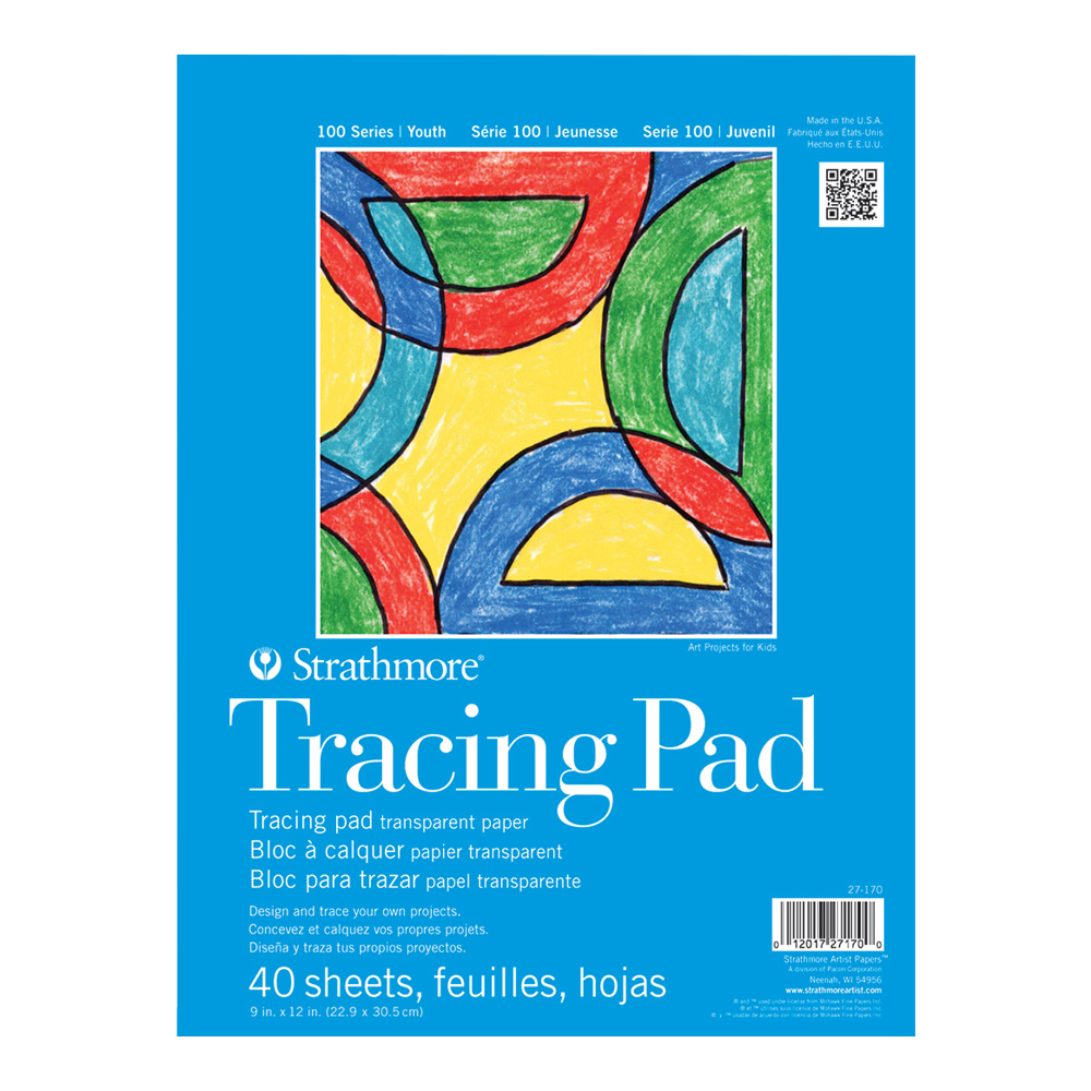 Strathmore 100 Youth Tracing Pad 9X12