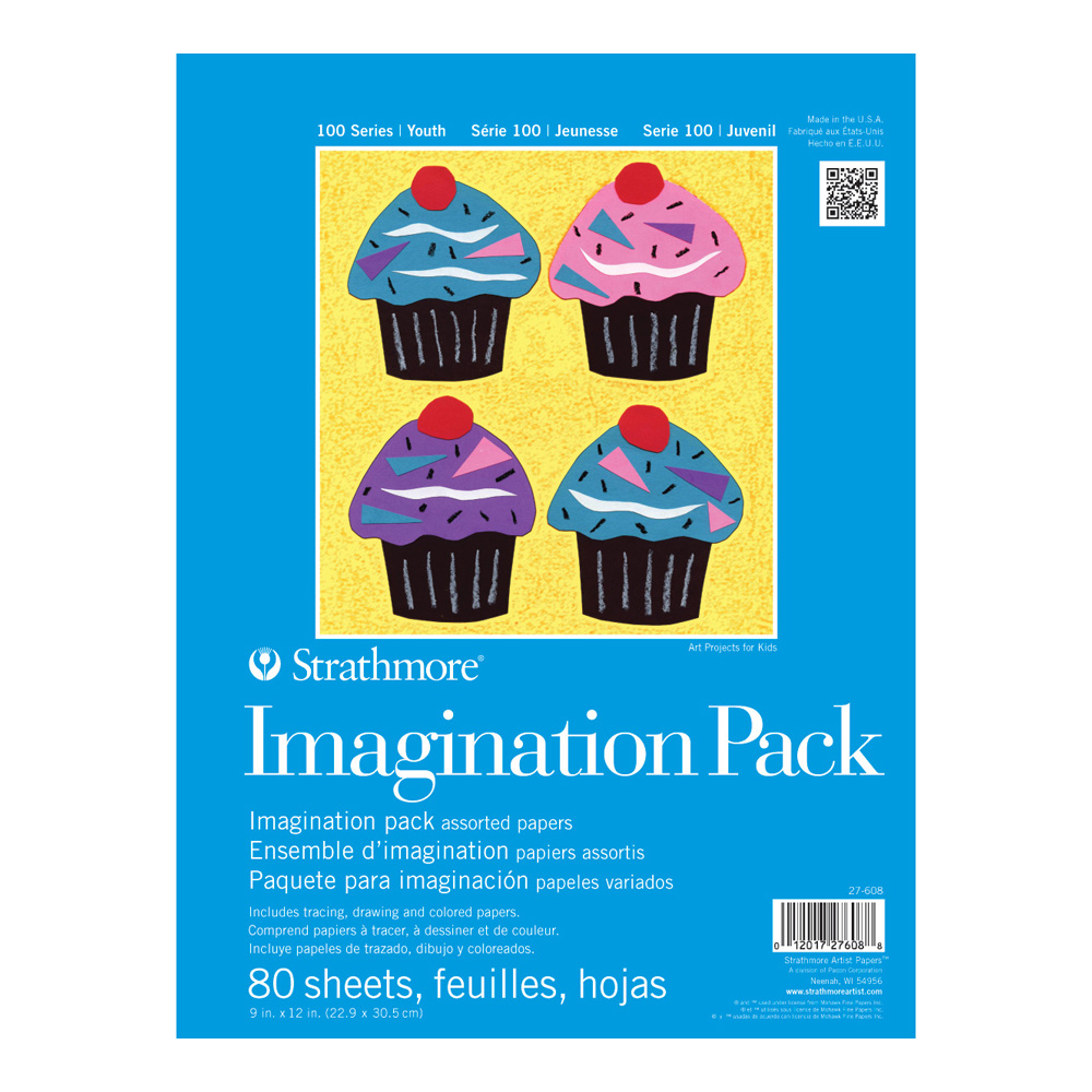 Strathmore 100 Youth Imagination Pack 9X12
