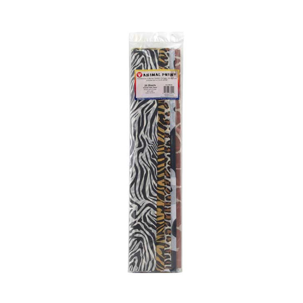 Art Tissue Paper Wild Animal Prints 20X30