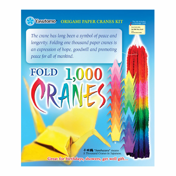 Origami Thousand Cranes Set