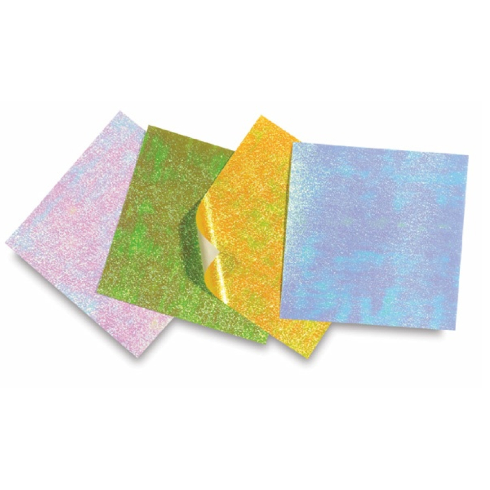 Origami Paper Opalescent Crinkle 4.5 16/Sheet