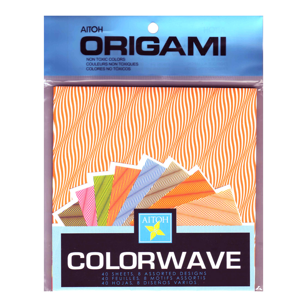 Origami Paper Colorwave 6X6 40/Sheets
