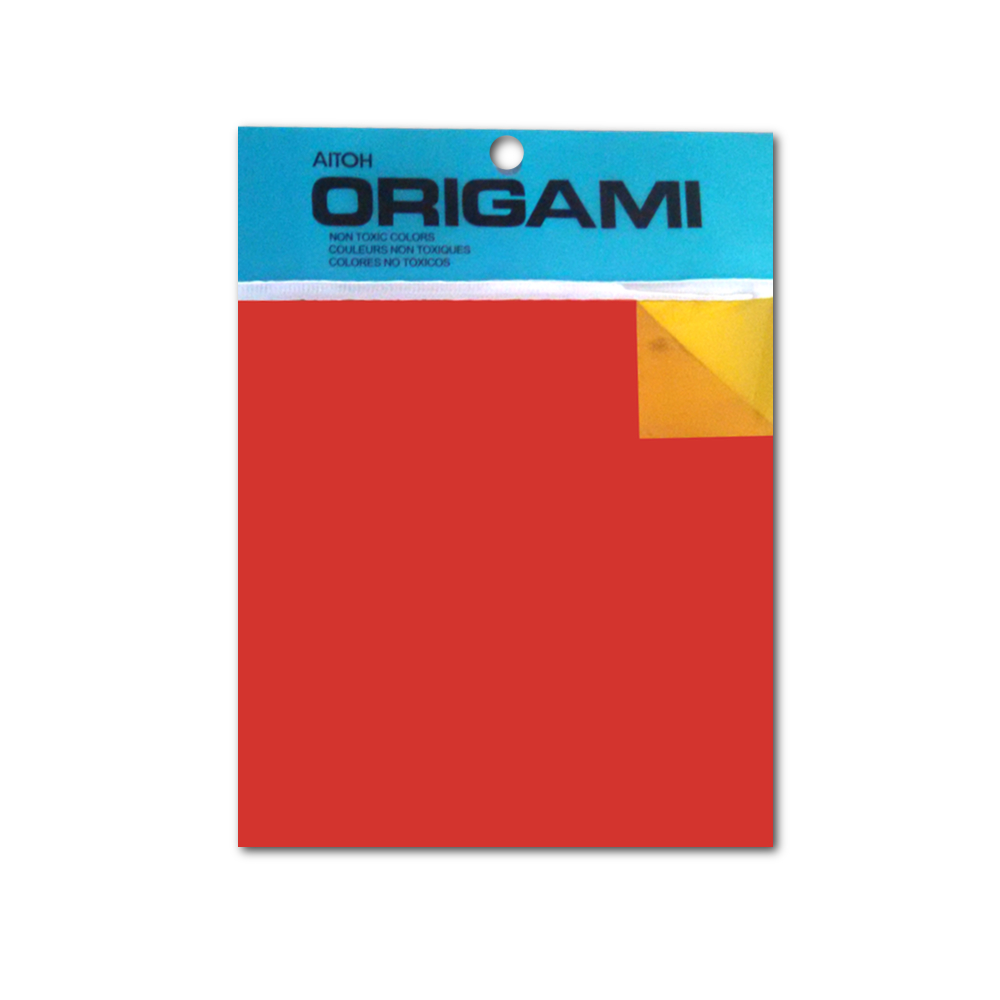 Origami Paper Double-Side Color/Foil 6X6 18/S