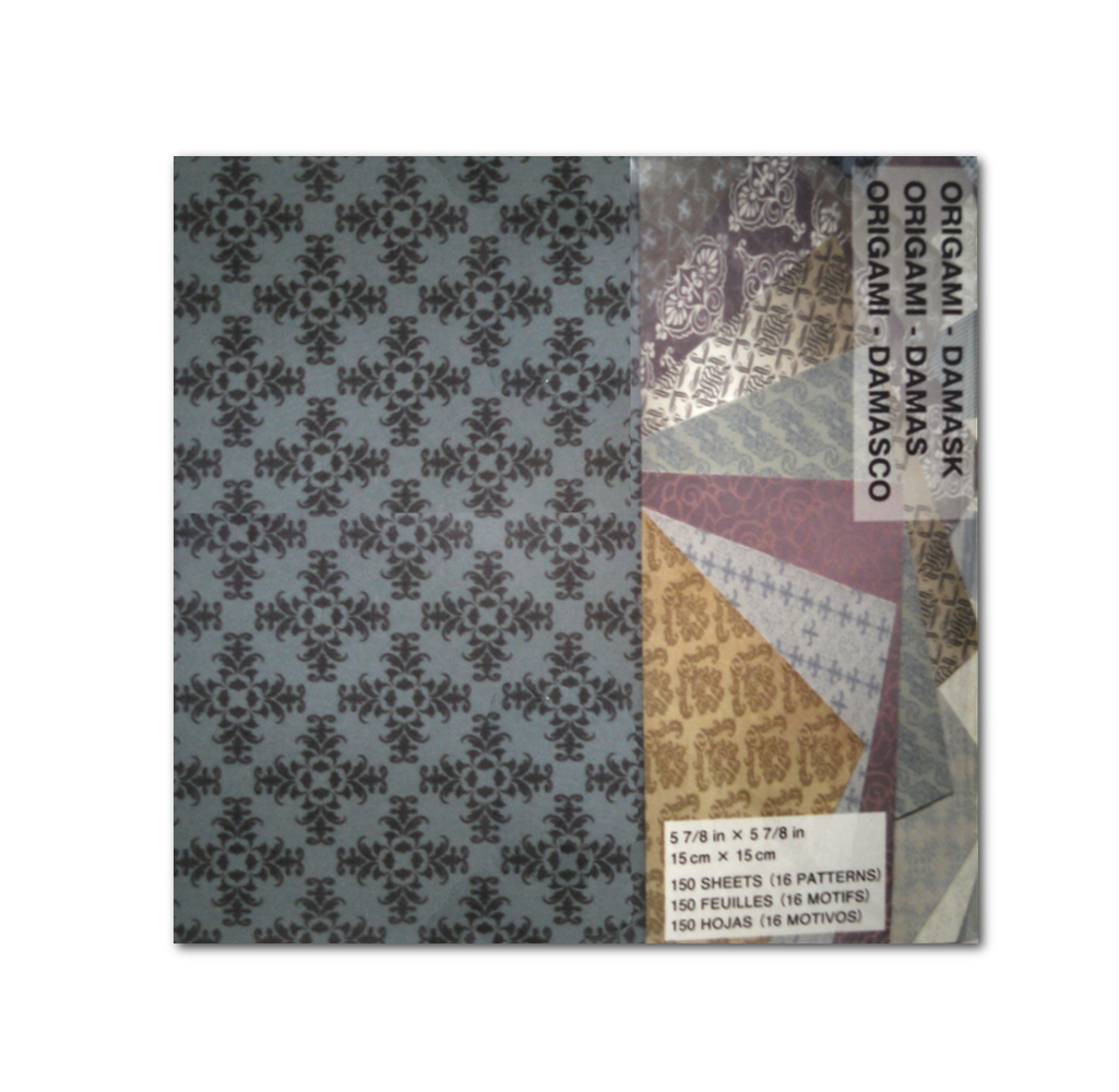 Origami Paper Damask 6X6 150 Sheets