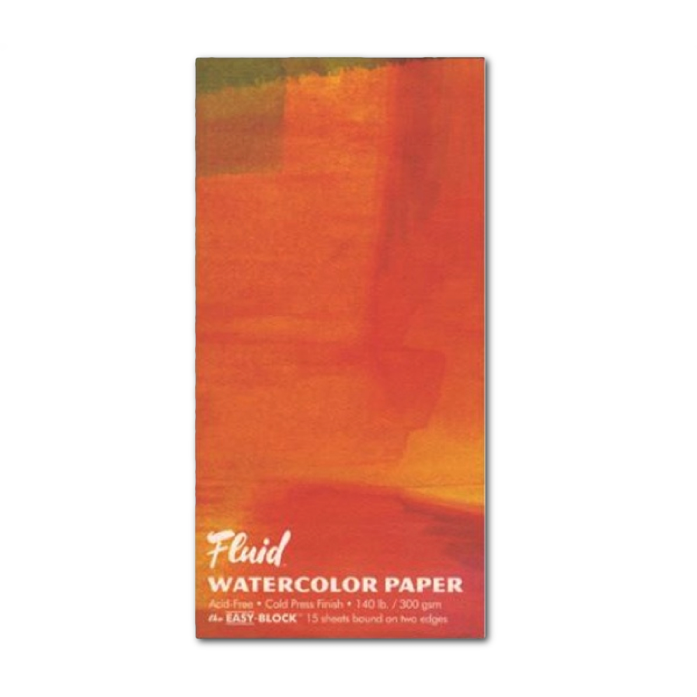 Fluid Watercolor Cold Press Ez-Block 6X12