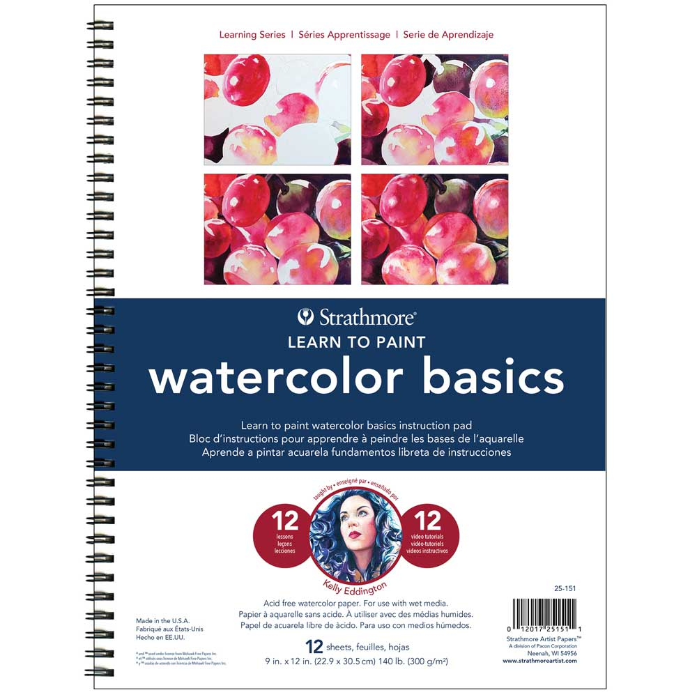 Strathmore Learn To Paint - Watercolor Basics