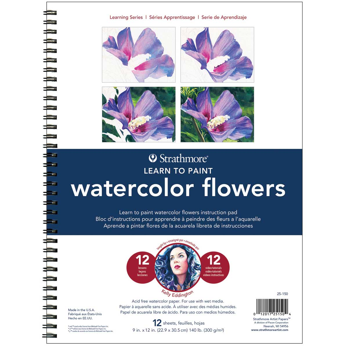 Strathmore Learn To Paint -Watercolor Flowers
