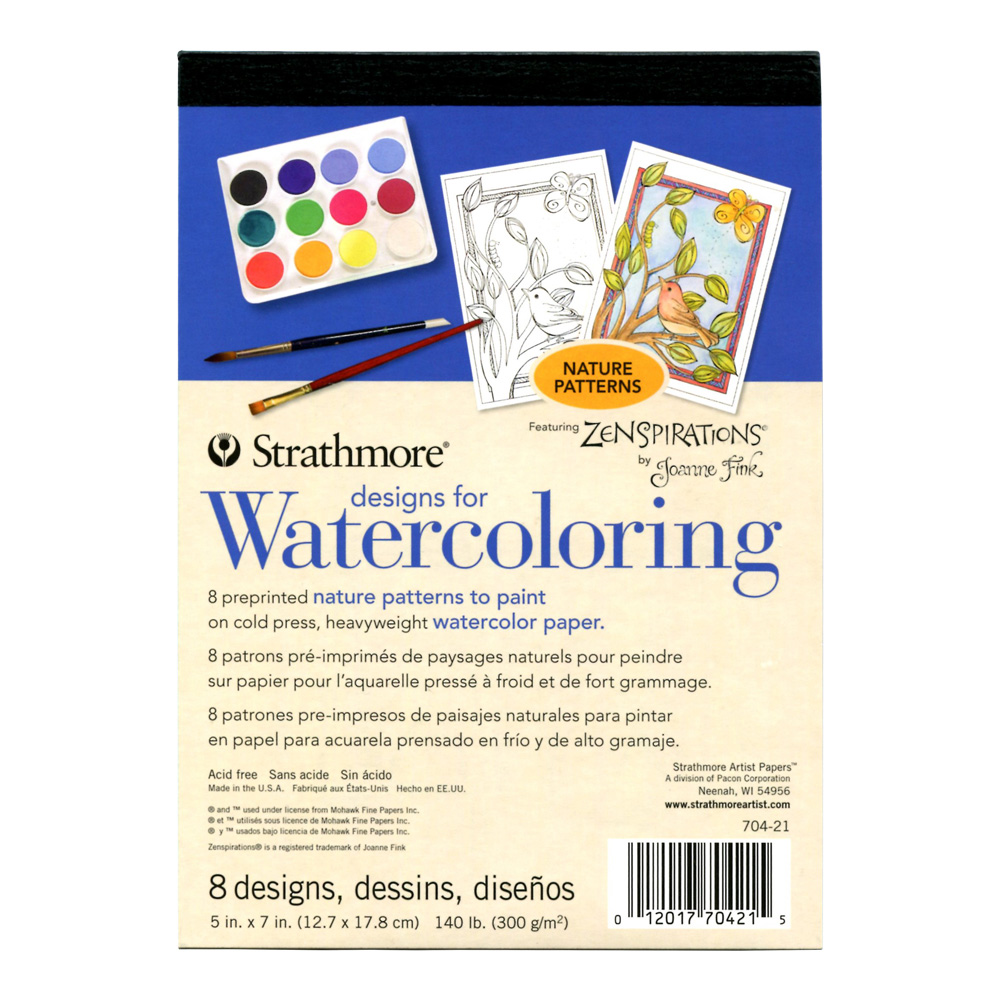 Strathmore Designs for Watercoloring Nature