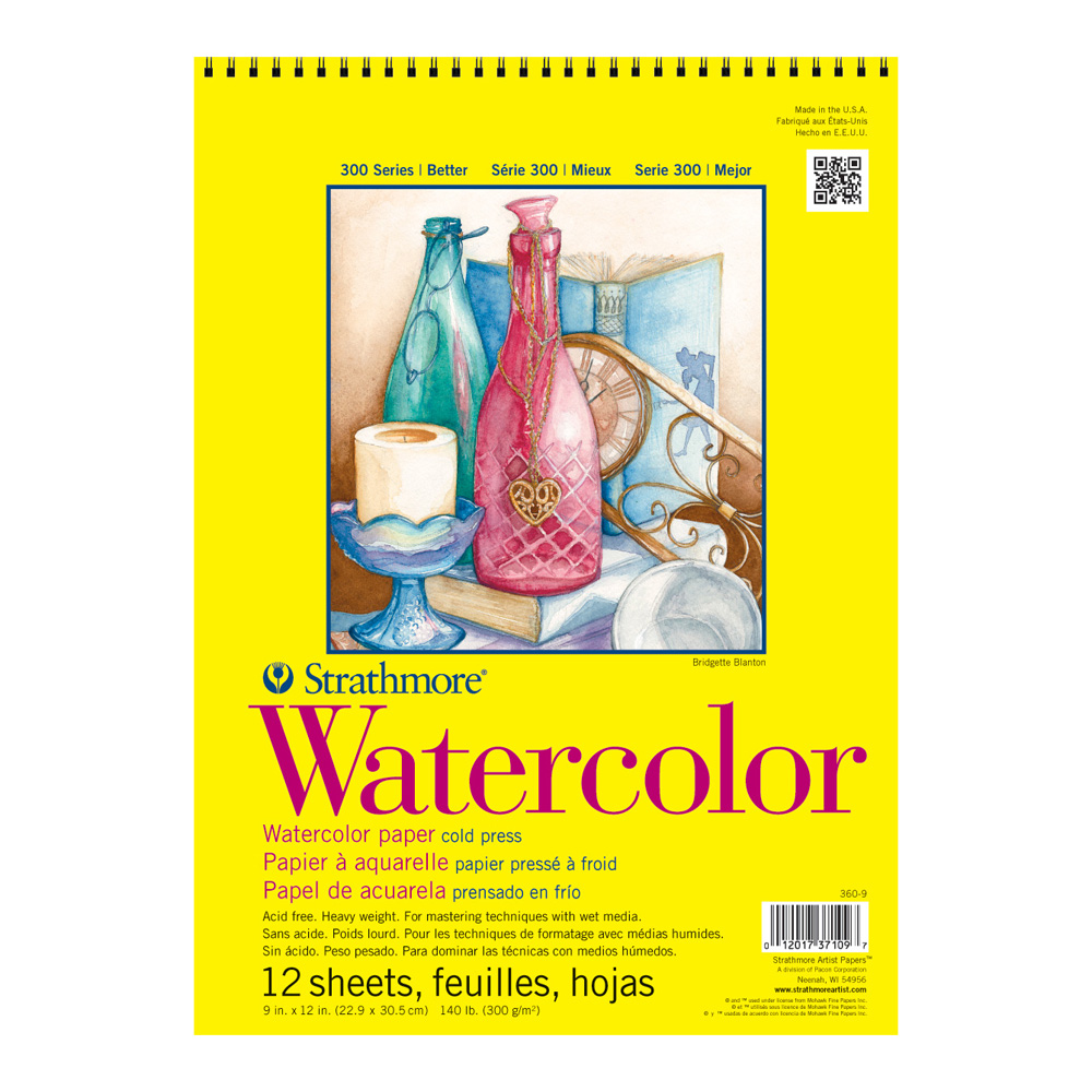 Strathmore 360 Watercolor Pads