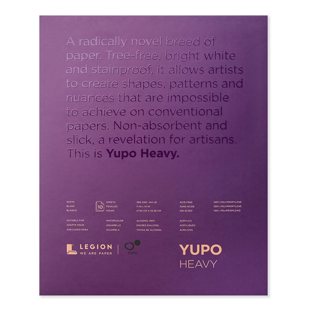 Yupo Heavyweight Pad White 11X14 Inch