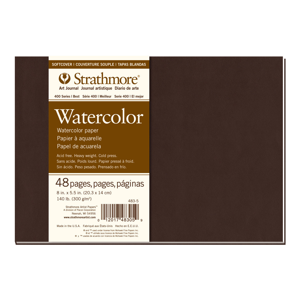 Strathmore 400 Softcover Watercolor 8X5.5