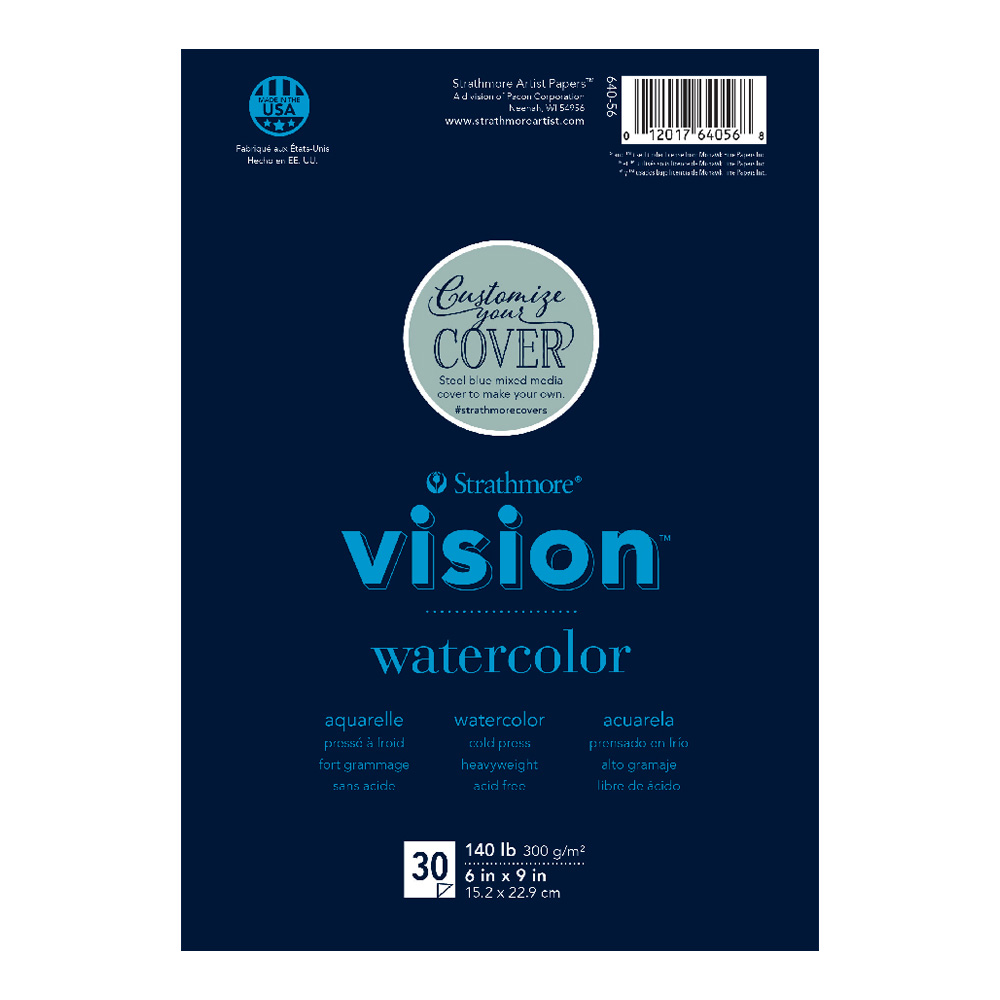 Strathmore Vision Custom Watercolor Pad 6x9