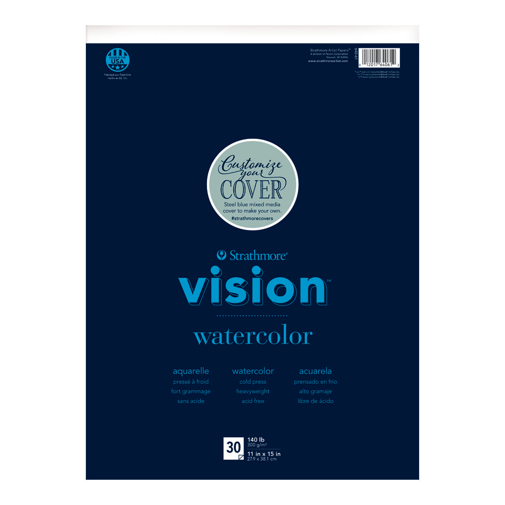 Strathmore Vision Custom Watercolor Pad 11x15