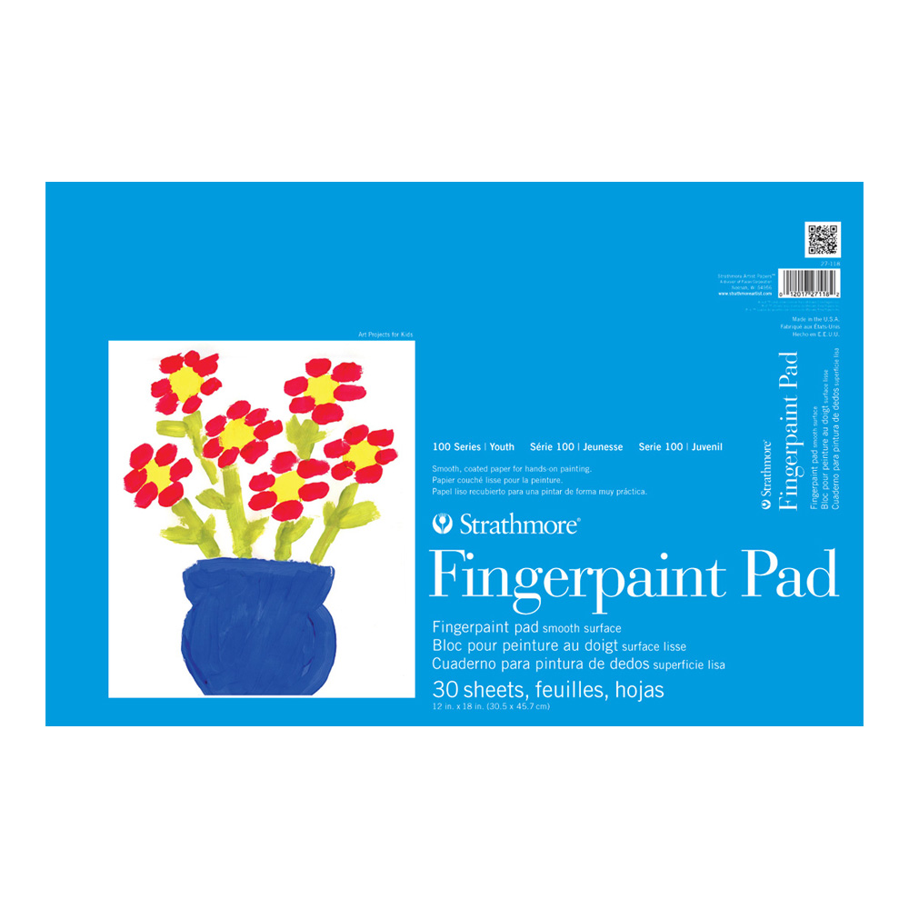 Strathmore Kids Fingerpainting Pad 12X18