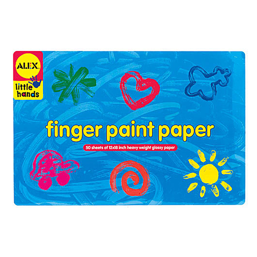 Alex Finger Paint Paper 12X18