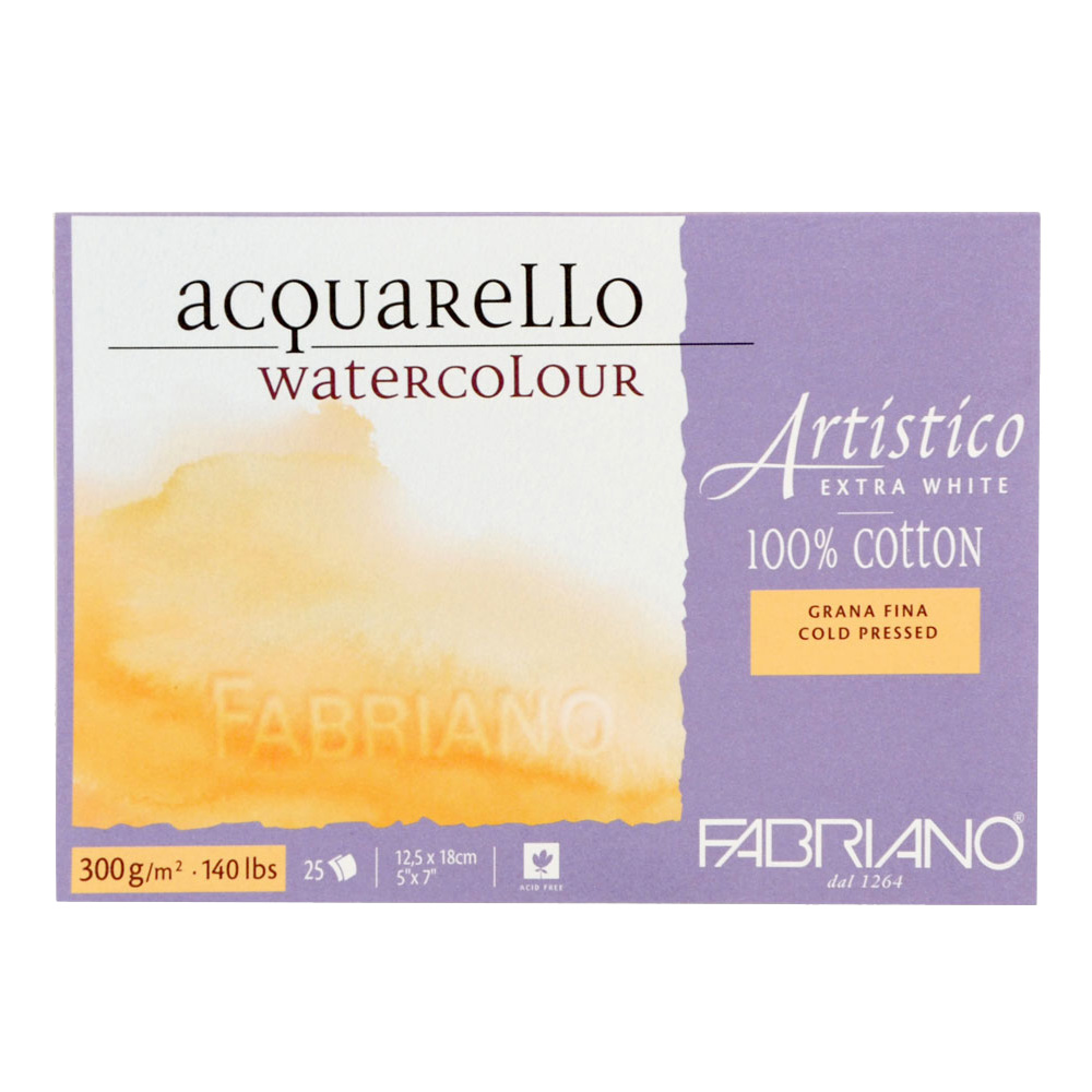 Fabriano Watercolor Studio Pads