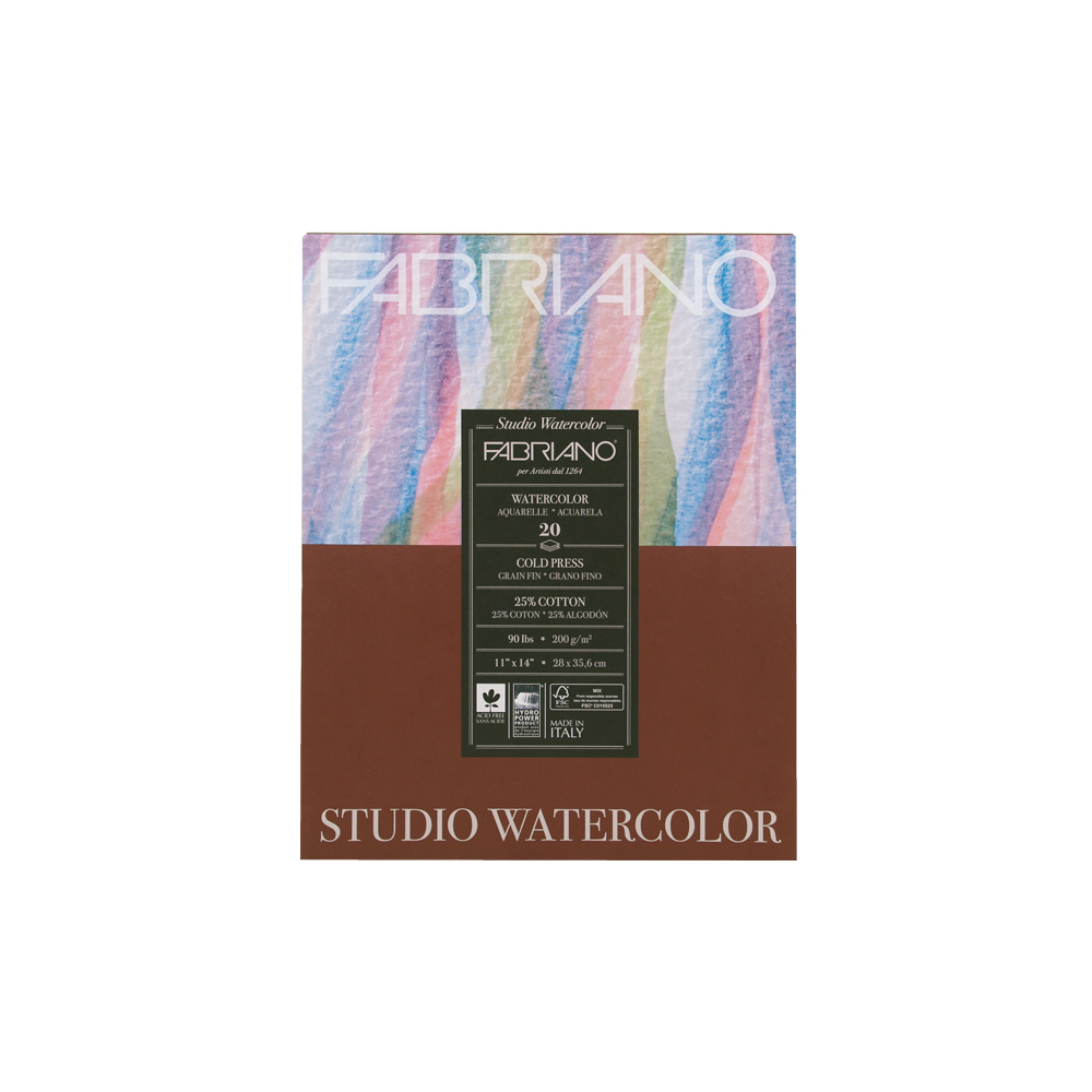 Buy Fabriano Studio Wc Pad 11x14 Cp 90g 20 Shts