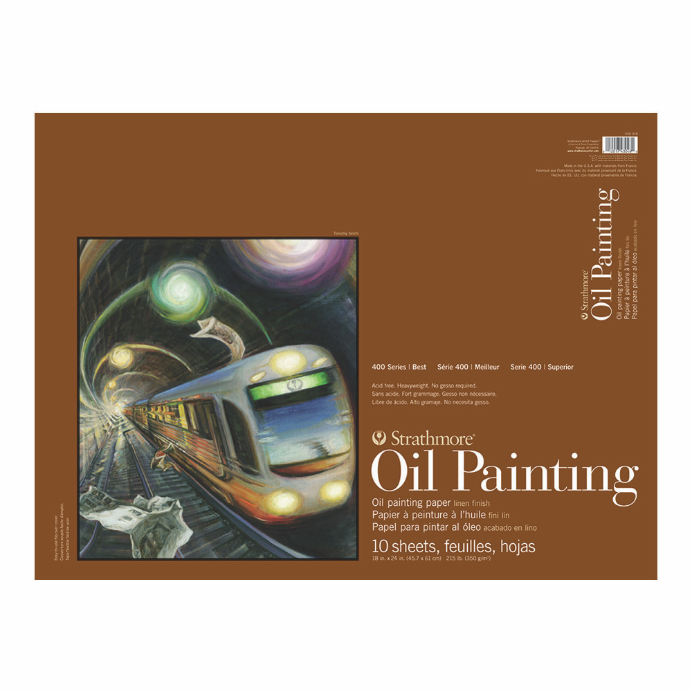 Strathmore Oil Painting Paper Pad 18x24
