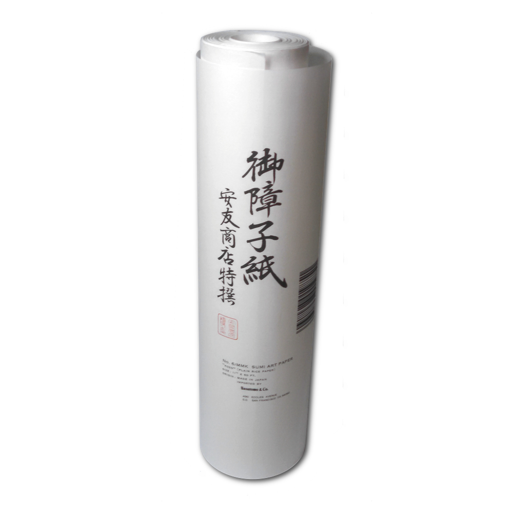 Kozo Rice Paper Roll 11In X 60Ft
