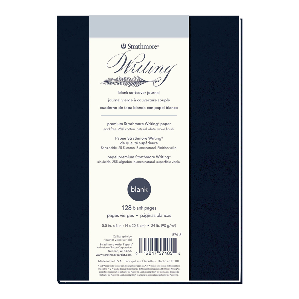 Strathmore 500 Writing Softcover Blank 5.5X8