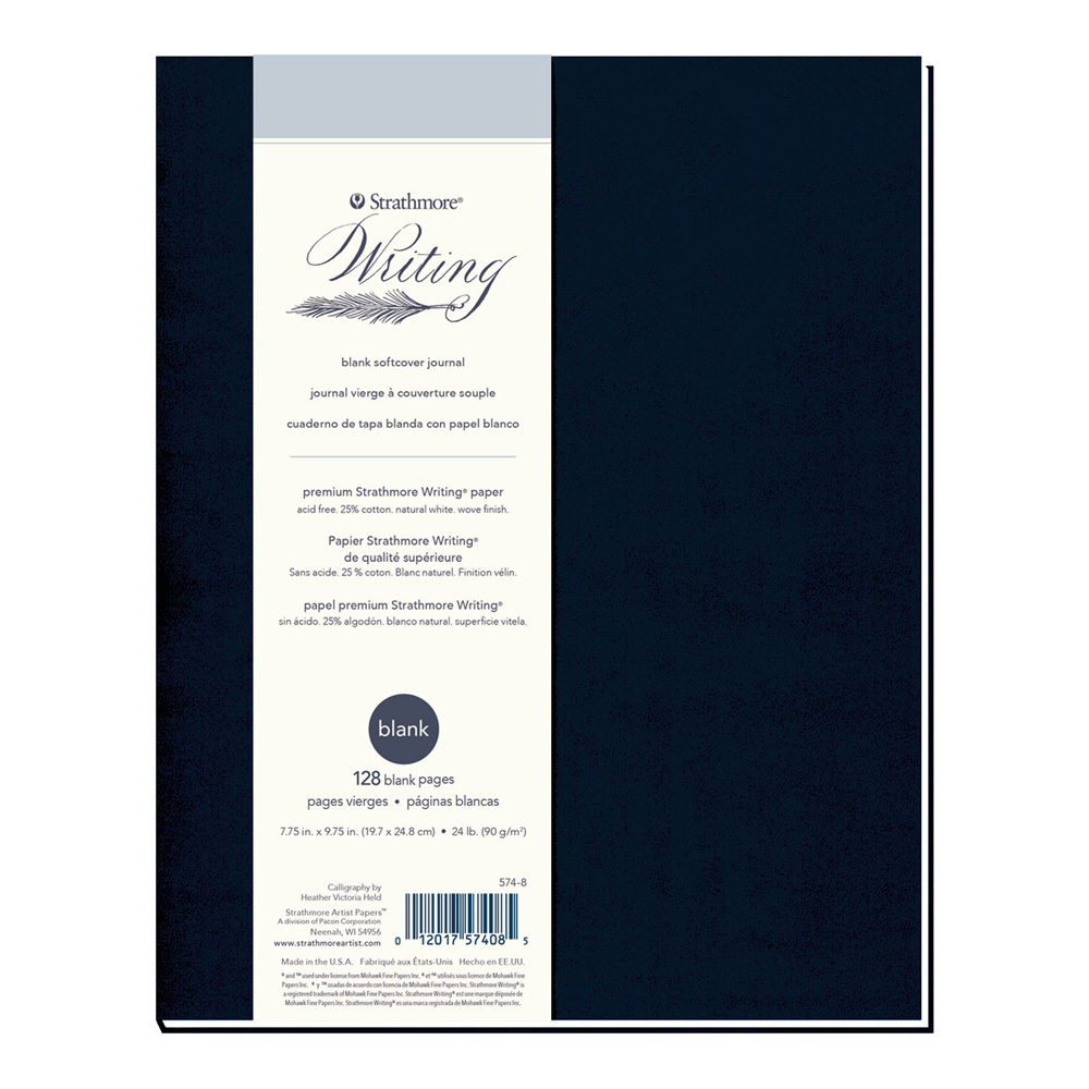 Strathmore 500 Writing Softcover Blank 8X10