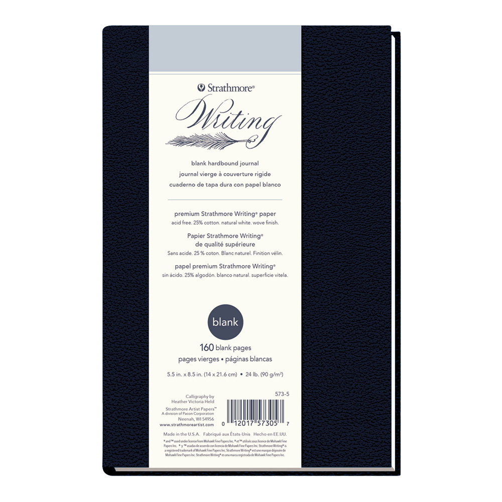 Strathmore 500 Writing Hardcover Blank 6X8