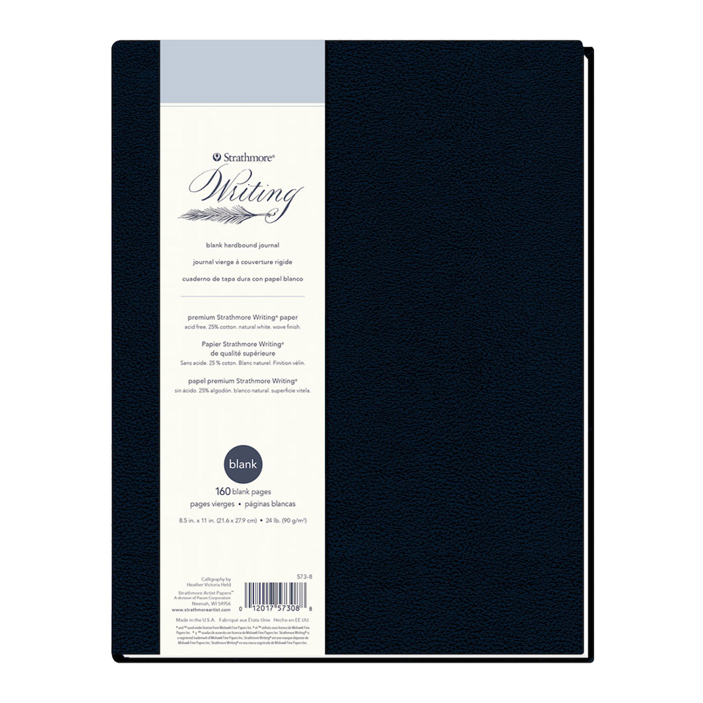 Strathmore 500 Writing Hardcover Blank 8.5X11