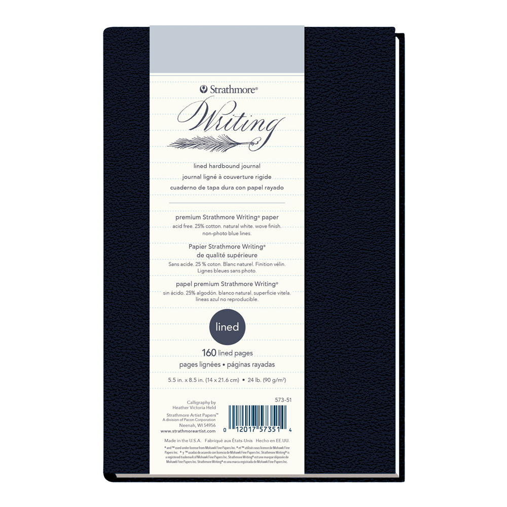 Strathmore 500 Writing Hardcover Lined 6X8