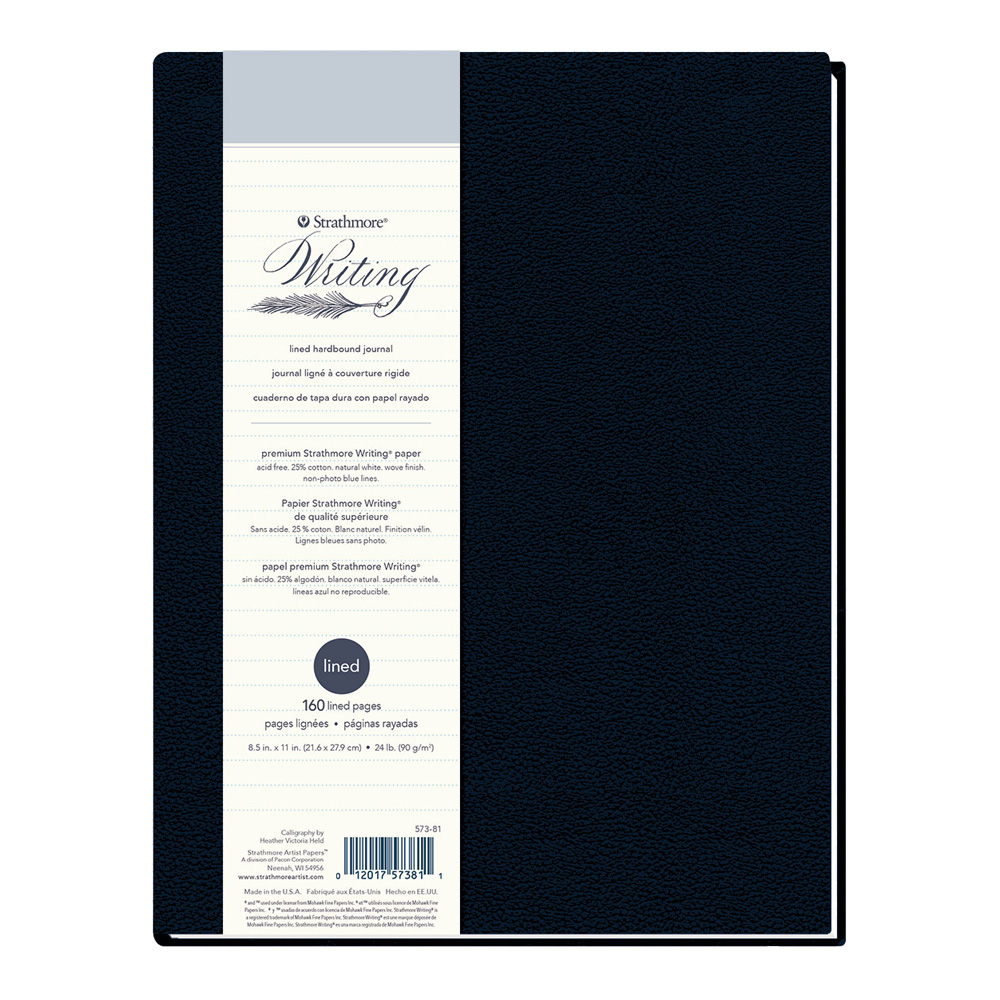 Strathmore 500 Writing Hardcover Lined 8.5X11