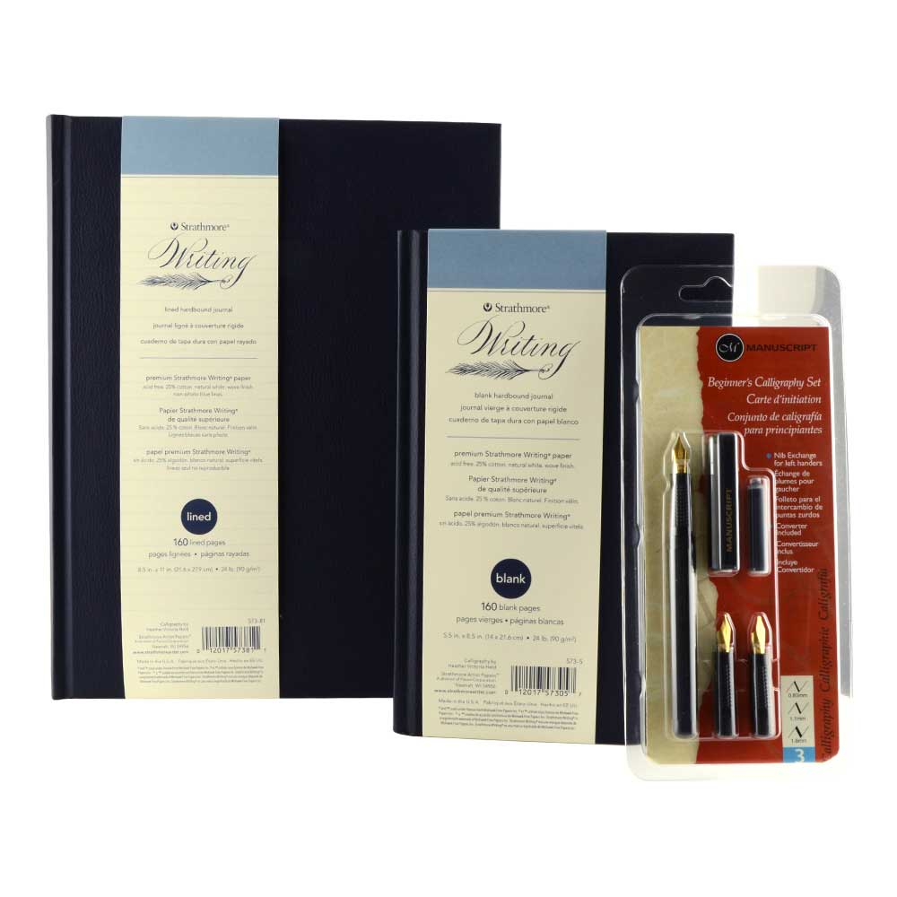 Strathmore Writing Pack W/Calligraphy Set