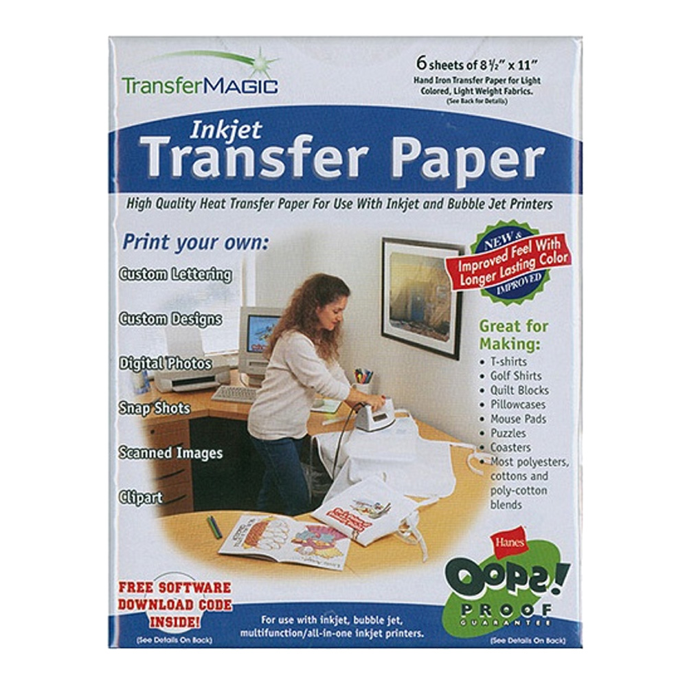 Transfer Magic Ink Jet Transfer Paper 8.5X11