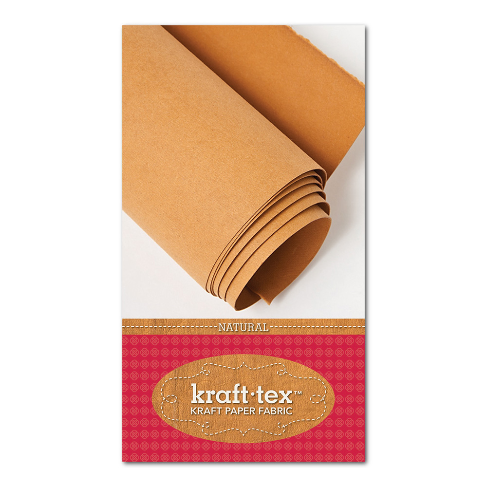 Kraft Tex Paper Fabric Natural 18In X 1.63Yd