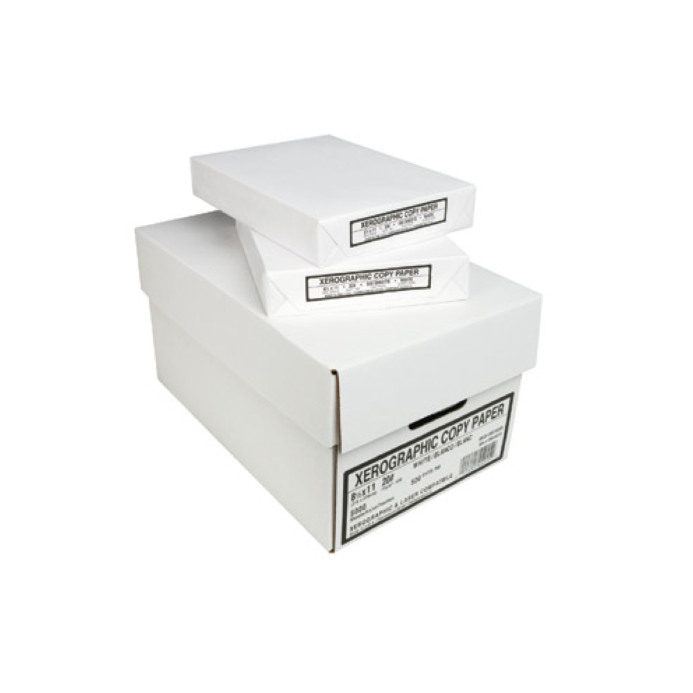 Copier Paper White 20Lb 500 Sheets 8.5X11