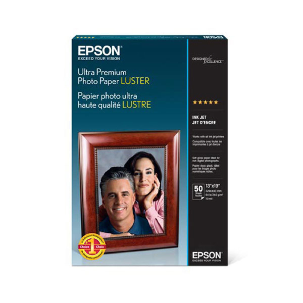 Epson Ult Prem Photo Paper Luster 50 13X19