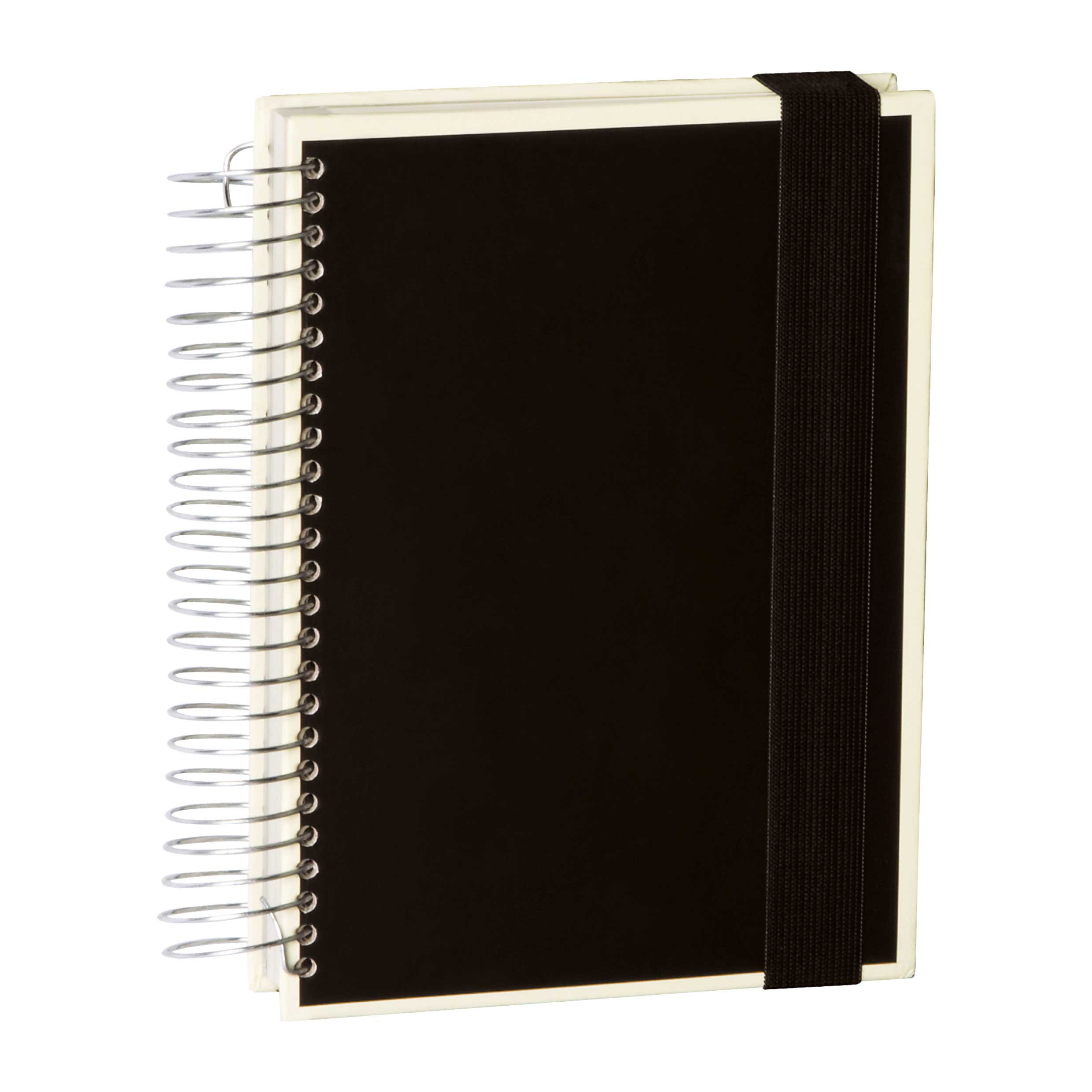 Semikolon Mucho A5 Spiral Notebook Black