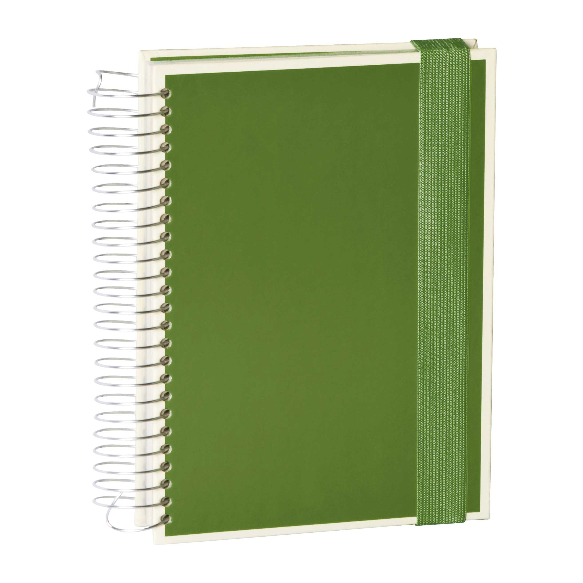 Semikolon Mucho A5 Spiral Notebook Irish Grn